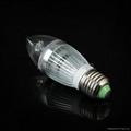 Customised 4W LED Candle Bulb Lights 2