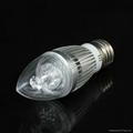 Customised 4W LED Candle Bulb Lights 5