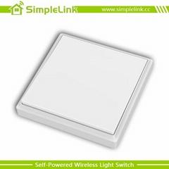 wireless self-powered light switch