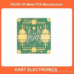 4 layers Metal core pcb