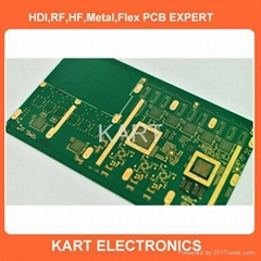 high densitry printed circuit board
