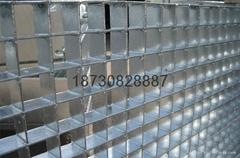 大型操作平台承重镀锌钢格板钢格栅