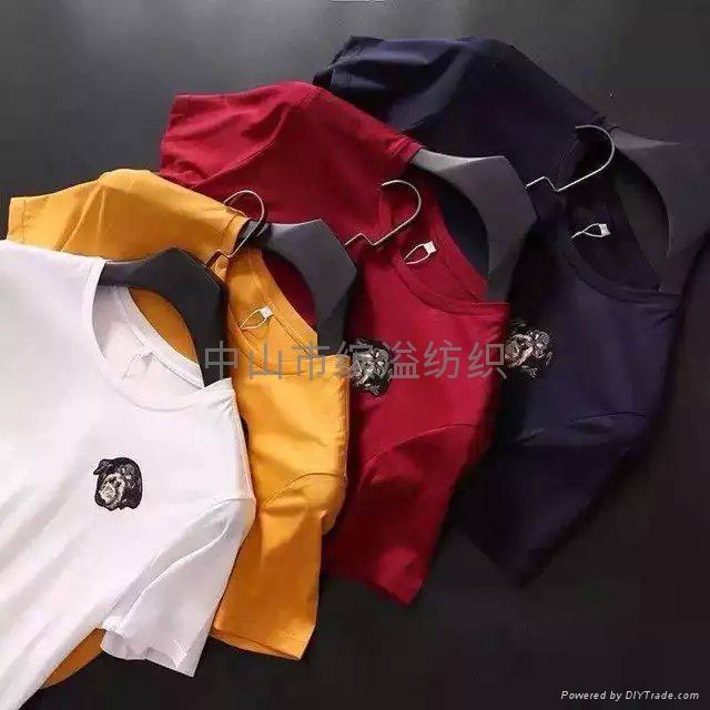 双丝光棉T恤 1