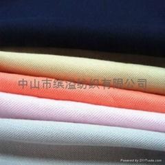 60S/2双丝光棉素色珠地布