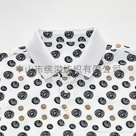 双丝光棉印花T恤 3