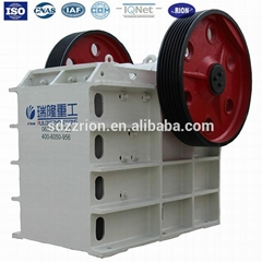 High quality ISO certificatied mining stone jaw crusher for sale