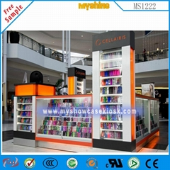 手机中岛柜手机配件展示柜台