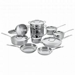 Cuisinart Chef's Classic 77-17 17-piece cookware set