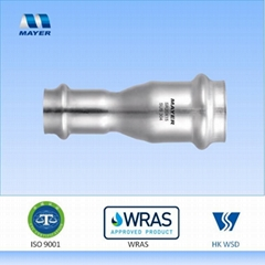 Stainless Steel Reducing Coupling Press Fitting