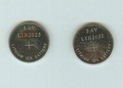 LIR2032 Li-ion Button Cell Battery