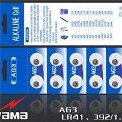 AG3 Alkaline Button Cell Battery