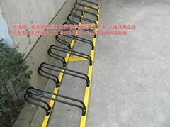 深南牌組合式防盜型不鏽鋼自行車停放架