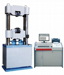 Microcomputer controlled electro-hydraulic servo universal testing machine WAW-E