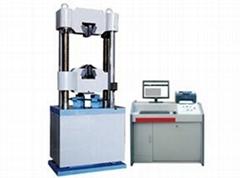 Microcomputer controlled electro-hydraulic servo universal testing machine WAW-B