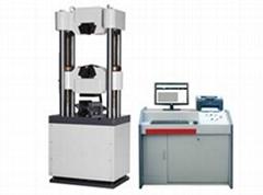 Microcomputer controlled electro-hydraulic servo universal testing machine WAW-D