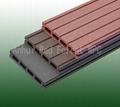 China wood-like hollow board wpc decking laminate flooring 1
