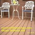 China wood-like hollow board wpc decking laminate flooring 3