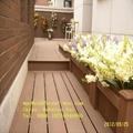 China wood-like hollow board wpc decking laminate flooring 5