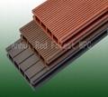 removable wood composite decking black