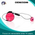 Save 30% Earbuds Reatractable In ear Noice Isolating Headphones with Microphone