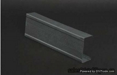 galvanized office partition wall stud&track for drywall materials used living ro