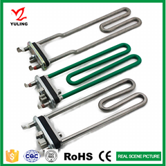 Heating element for universal washing machine