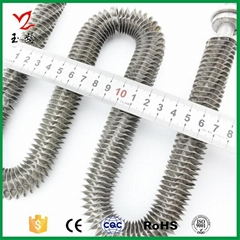 CE Approved stainless steel w shape Finned straight heating elements