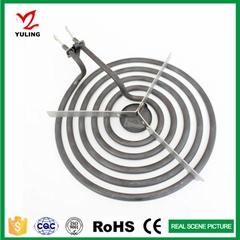 5 RINGS Tubular heater element for stove coil heating tube
