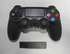 PS4無線遊戲手柄 USB2.4G無線接收頭連接ps4主機手柄