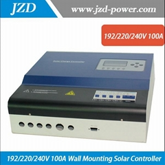 192/220/240V 100A Wall Mounting Solar Charger Controller for Solar Power System