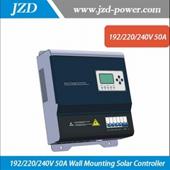192/220/240V 50A Wall Mounting Solar Charger Controller