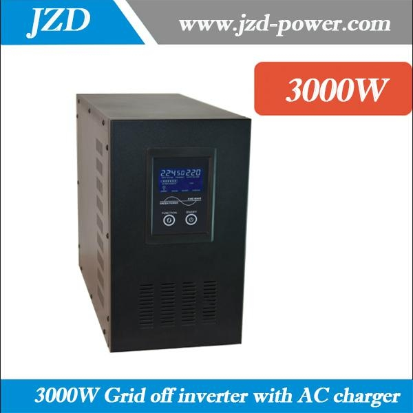 3000W dc to ac Inverter 24VDC to 220VAC Pure sine Wave low Frequency Inverter 1