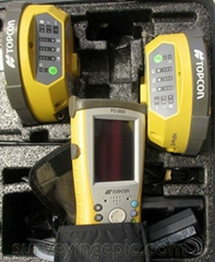 Topcon Hiper II Dual Receiver with FC-250