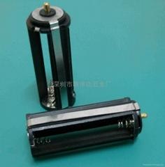 LED手电筒电池架