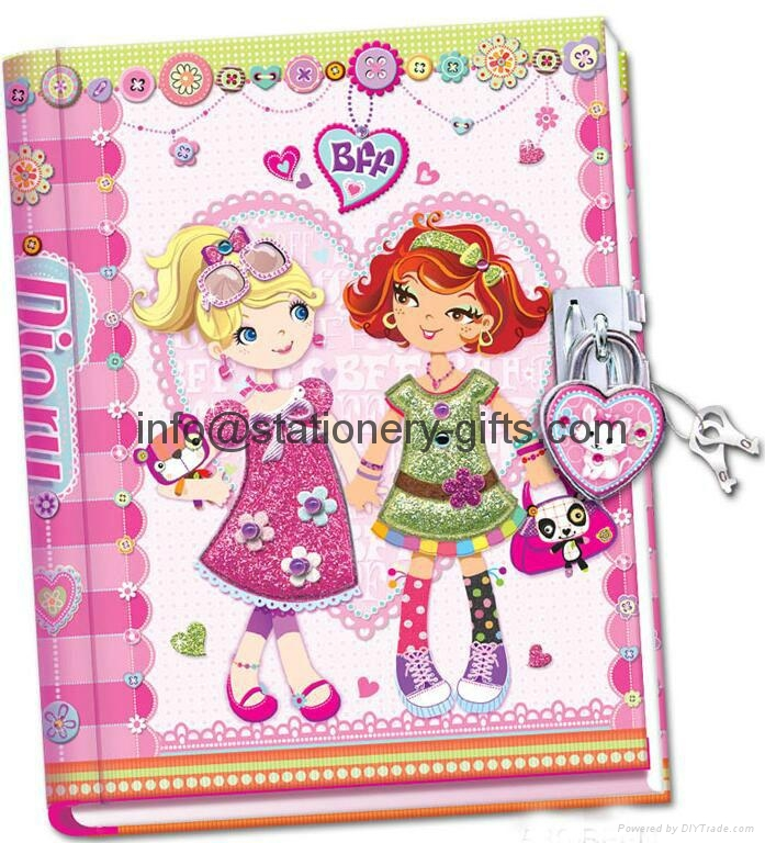 diary book notebook set 3