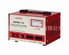 愛克賽單相220V全自動高精度電腦專用家用穩壓器500W 安全節能
