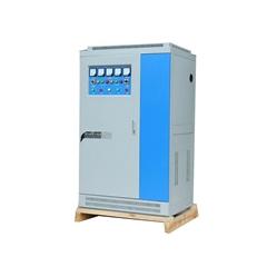 爱克赛SBW-100KVA三相全自动补偿式大功率电力柱式稳压器柜 100KW