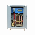 爱克赛SBW-100KVA三相全自动补偿式大功率电力柱式稳压器柜 100KW 3