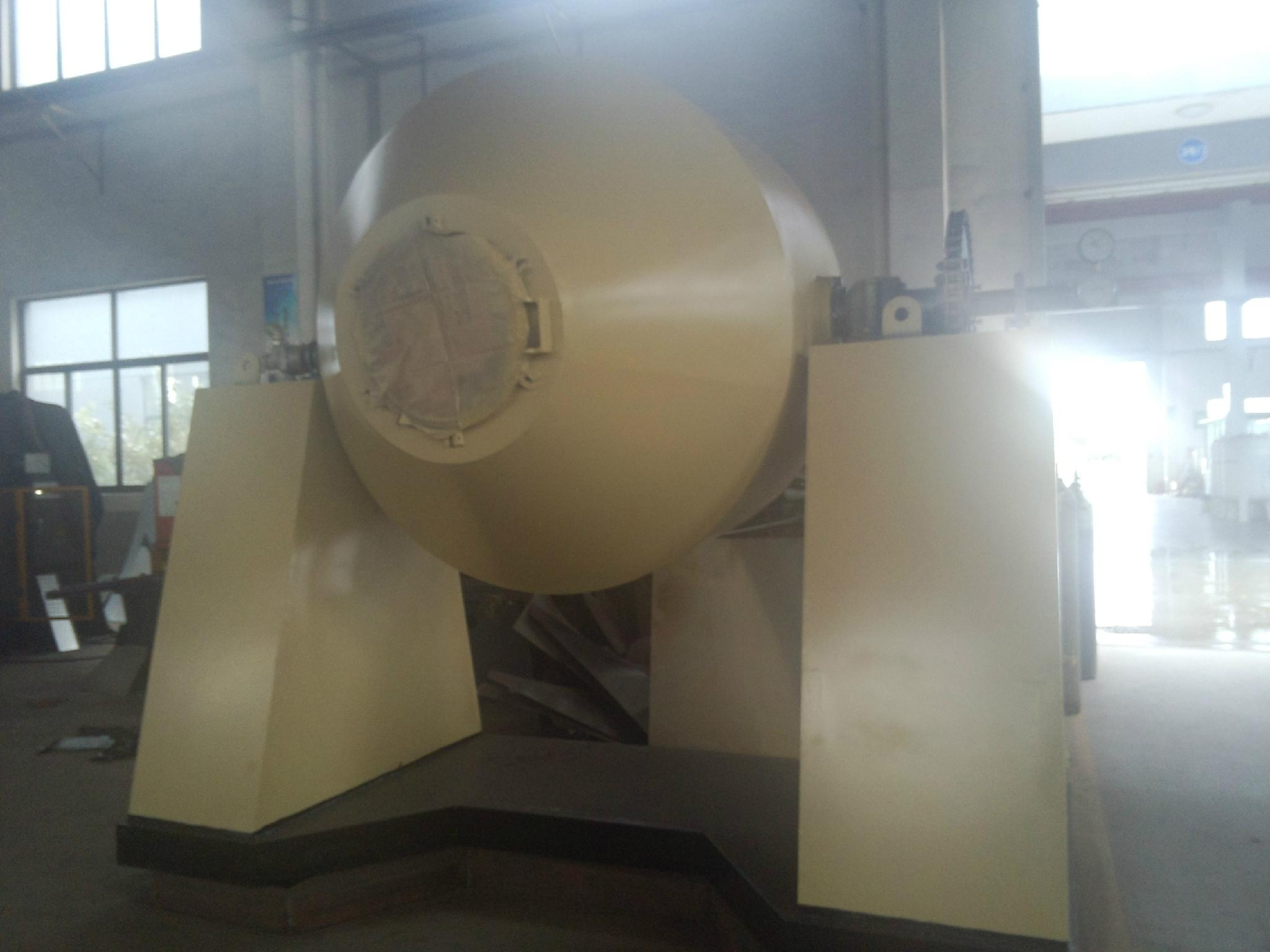 Glass-lined Double Cone Rotary Vacuum dryer 4