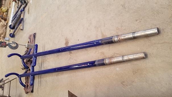 Glass-lined Impeller type  Agitator