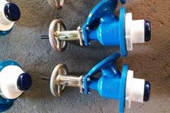 Glass-lined bottom flush valve