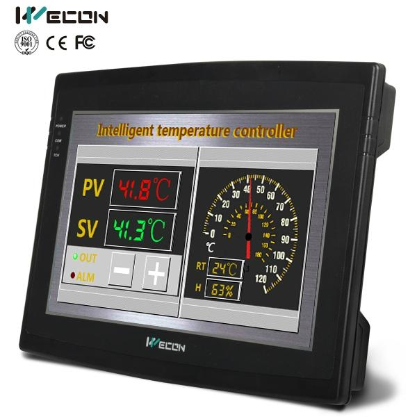 Wecon HMI LEVI102E 10.2 inch integrated plc with touch screen panel 1