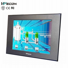 Wecon 15 inch industrial touch screen panel touch one machine