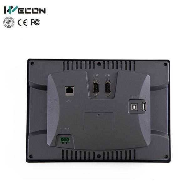 Wecon 10.2 inch embedded touch screen pc monitor with IP65 2
