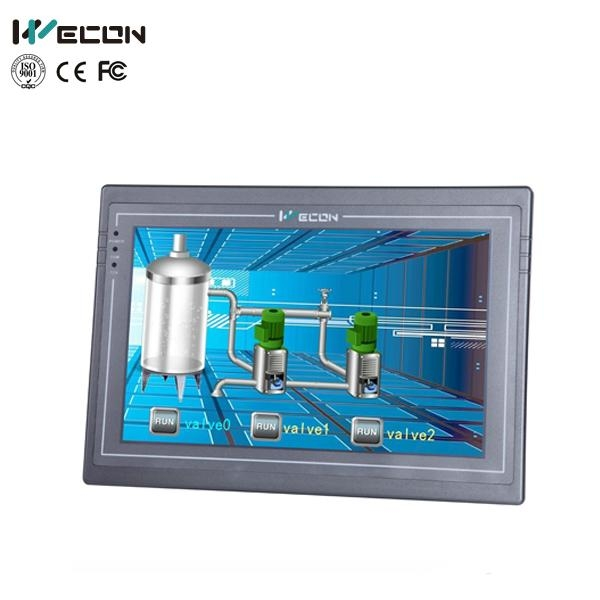 Wecon 10.2 inch embedded touch screen pc monitor with IP65 1