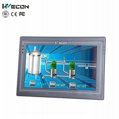 Wecon 10.2 inch embedded touch screen pc monitor with IP65