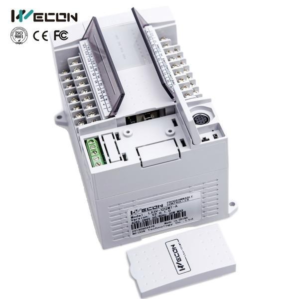 Wecon 24 I/O LX3V-1212MR-D modest chinese plc price 2