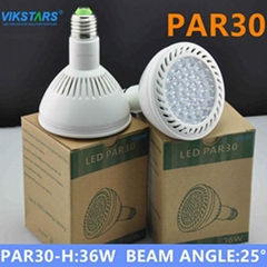 35w par30 LED light NEW model beam angle 25 degree
