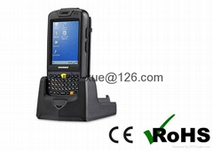 WinCE 6.0 OS ISO18000-6C Handheld UHF RFID Reader portable inventory reader Writ