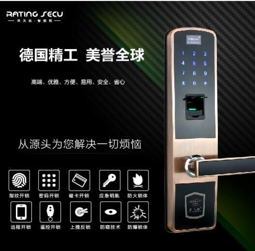 指紋密碼門鎖610A2價格 1